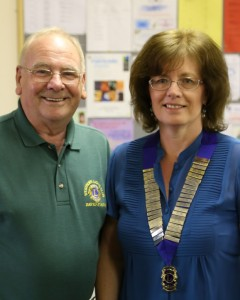 New president Anita Drago takes over from David Firth
